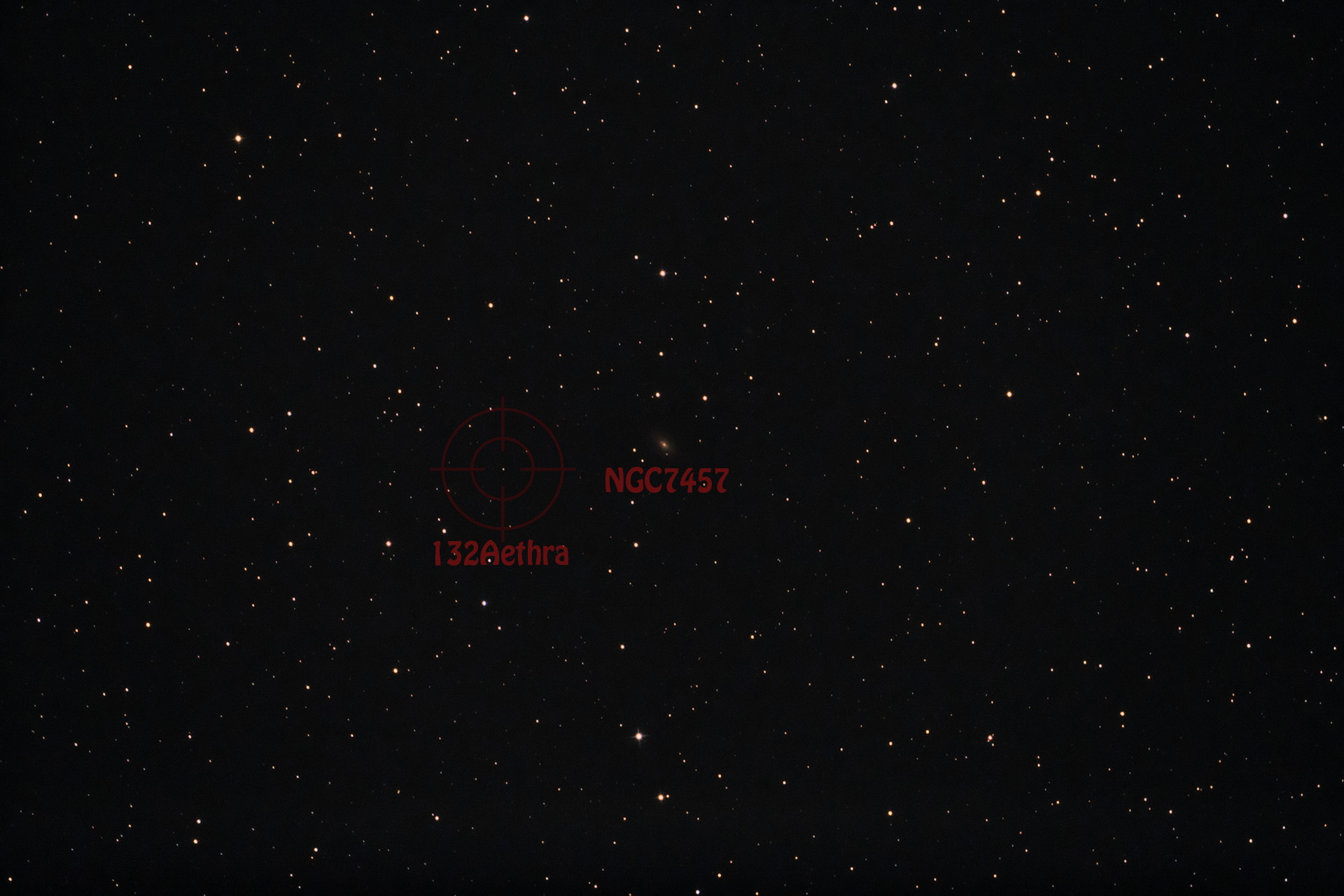 Asteroid 132Aethra am 23.08.2018